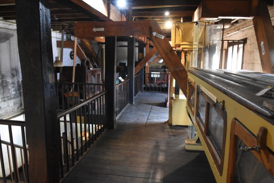 Toodyay, Australia: Interior of Connor's mill, Today.