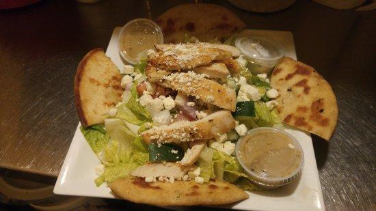 Williamsville, NY: Chicken Souvlaki