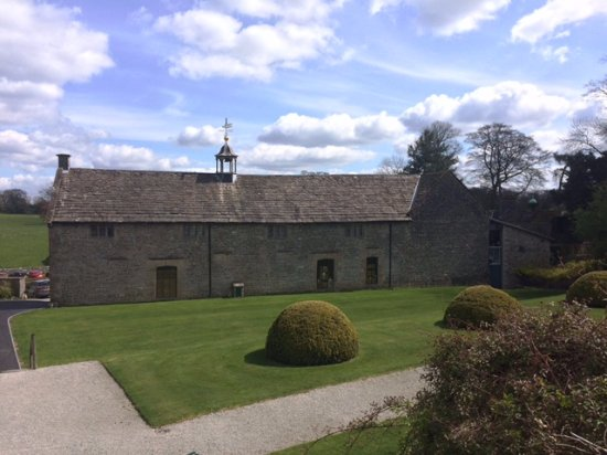 Tissington, UK: At the back of the old stable block