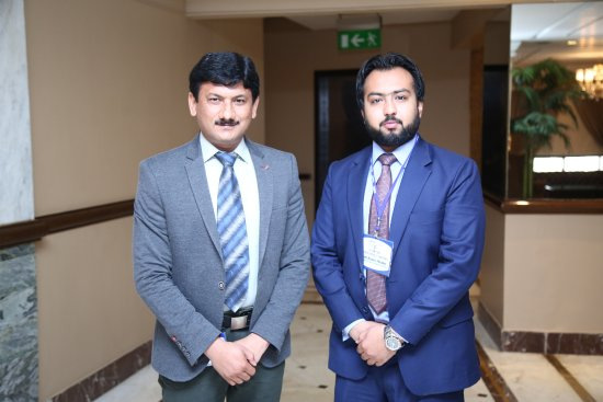 hospitality inn me with my rommate mr syed abeer haider