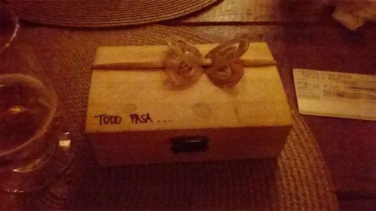 Morere, BA: A conta vem nessa caixinha linda