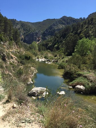 Lorcha, España: The nearby River Serpis