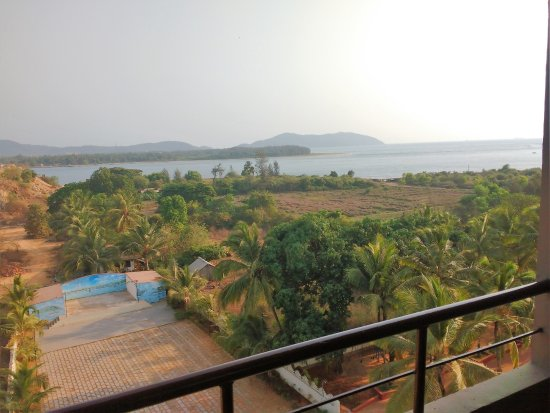 Karwar - Emerald Bay, A Sterling Holidays Resort: View from my room