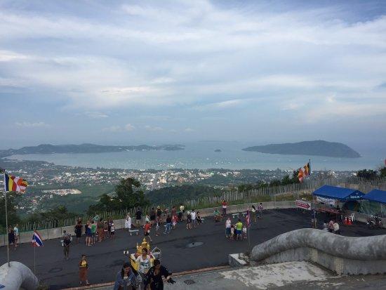 Chalong, Thailand: Вид со смотровой площадки