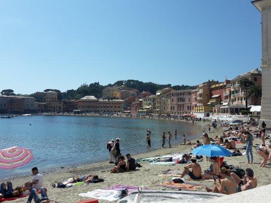 Matrimonio Spiaggia Sestri Levante : Spiaggia picture of bay silence sestri levante