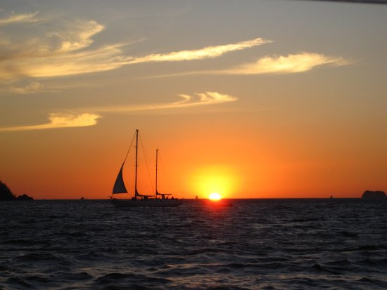 Playa Flamingo, Costa Rica: Gorgeous Sunset!