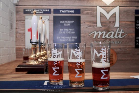 Great Missenden, UK: Tasting Station where you can enjoy an 'Ale Flight' a perfect way to find your favourite
