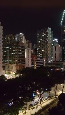 Shangri-La Hotel Kuala Lumpur: Night view from our room