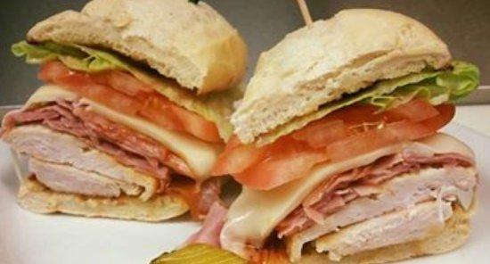 Durham, Canada: Chicken sandwich