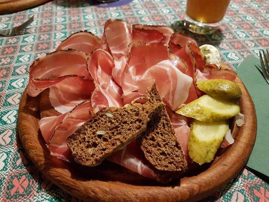 Antipasto Speck - Foto di Cantina Tirolese, Roma - TripAdvisor