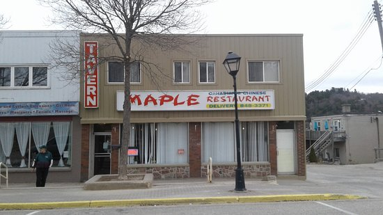 Elliot Lake, แคนาดา: Restaurant Photo From Across The Street