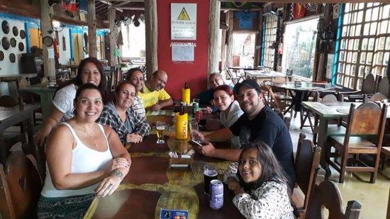 Itapecerica da Serra, SP: Almoço com amigos.