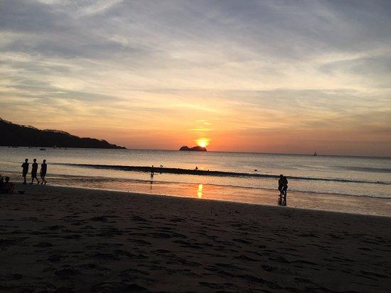 Playa Hermosa : Beautiful Sunsets!