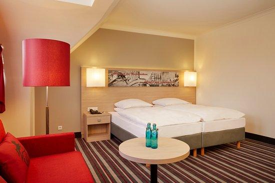 Freundliche Zimmer im H+ Hotel Stade Herzog Widukind