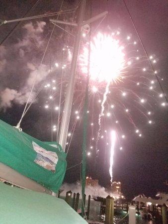 Edgewater, MD: Fireworks in Nassau.