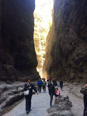 Laishui County, Cina: Baili Canyon