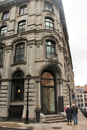 The Hotel Gault -- whose ornate exterior offers no hint at what's inside.