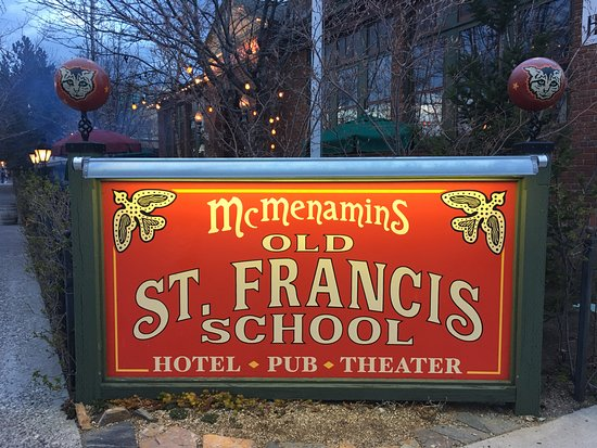 McMenamins Old St. Francis School: Whatever you want you can find it here
