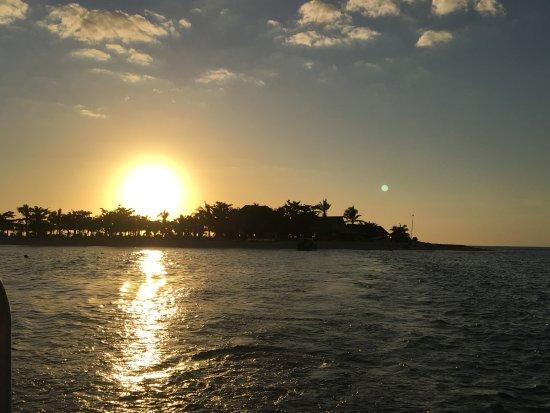 Νησί Denarau, Φίτζι: sad to say goodbye at sunset