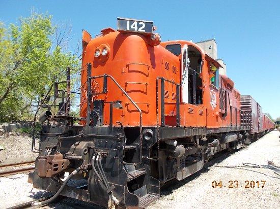 Baldwin City, แคนซัส: The engine