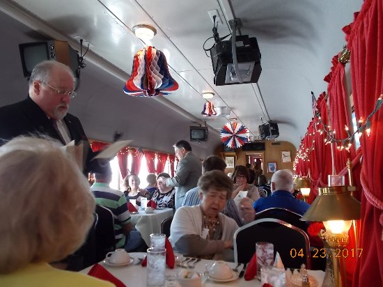 Baldwin City, KS: The Dining Car