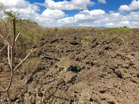 Masaya, Nicaragua: Lavafeld