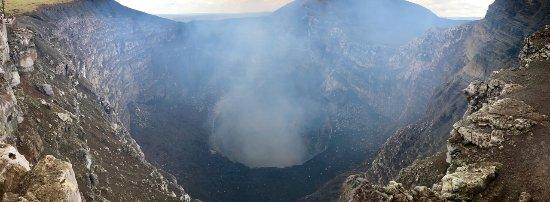 Masaya, Nicaragua: Krater