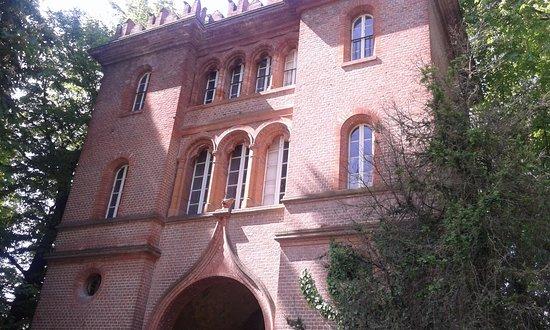 Il castello di Racconigi dal parco