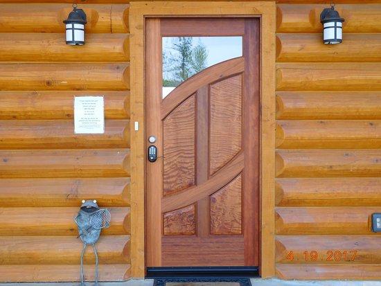 Murphys, CA: New front door installed