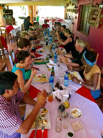 Nindiri, Nikaragua: Lunch