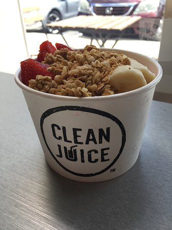 Clean Juice: The Nutty One Bowl