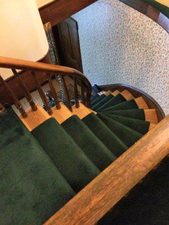 Rutland, VT: Back stairway