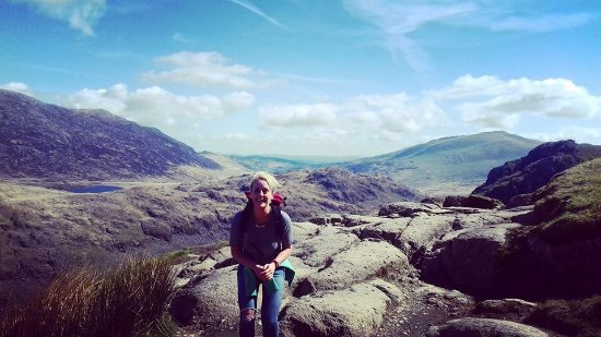 Betws-y-Coed, UK: Up Snowdon!