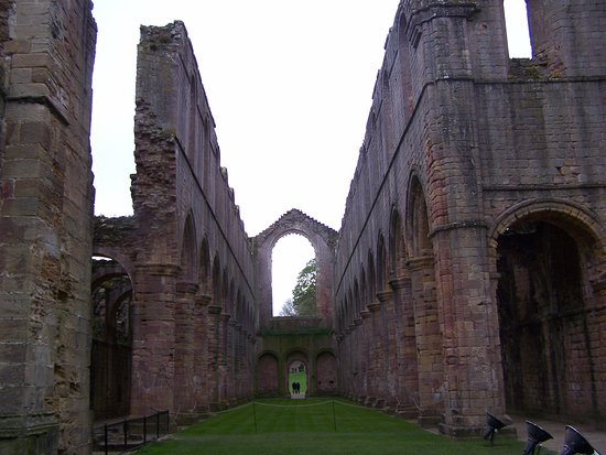 Fountains Abbey and Studley Royal Water Garden: Inside the Abbey
