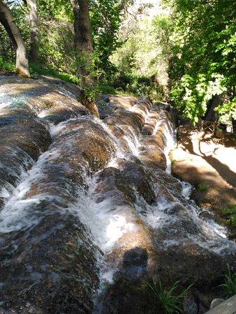 Nuevalos, Spain: cascada de agua