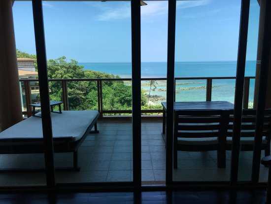Laem Set, Thailand: View from Living room