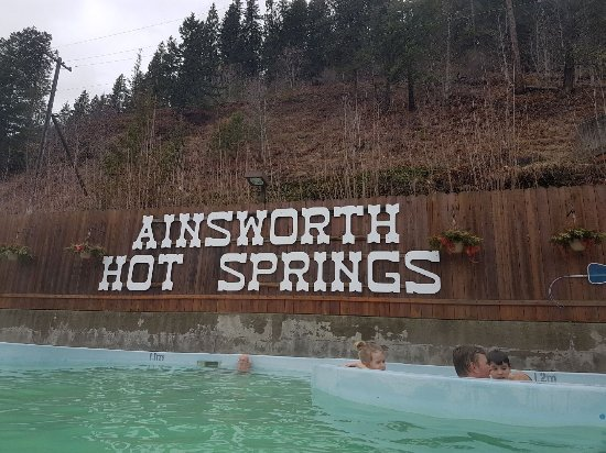 Ainsworth Hot Springs, Canada: Hot Springs pools