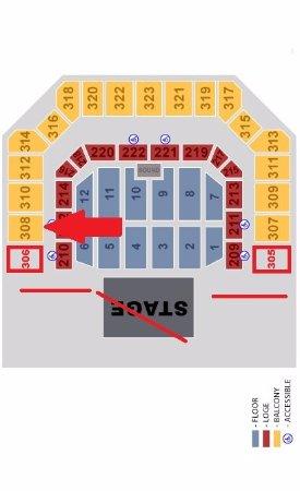 bill graham civic auditorium seating chart - 275×450