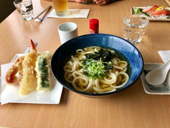Kohan Restaurant: Udon noodle soup & tempura