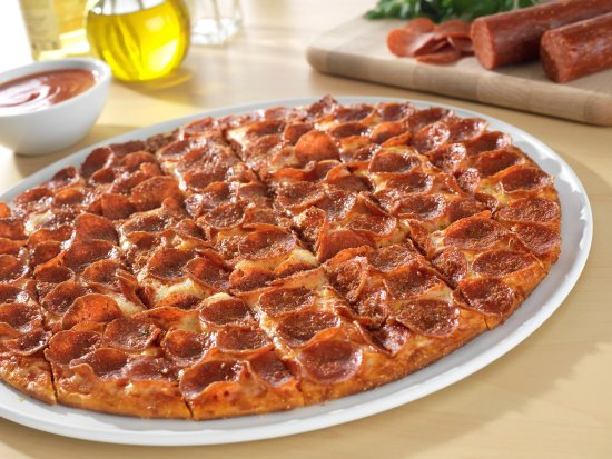Owensboro, KY: Pepperoni (100 pieces on a large!)