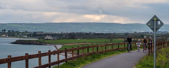 Dungarvan, Ireland: Waterford Greenway - view of Clonea