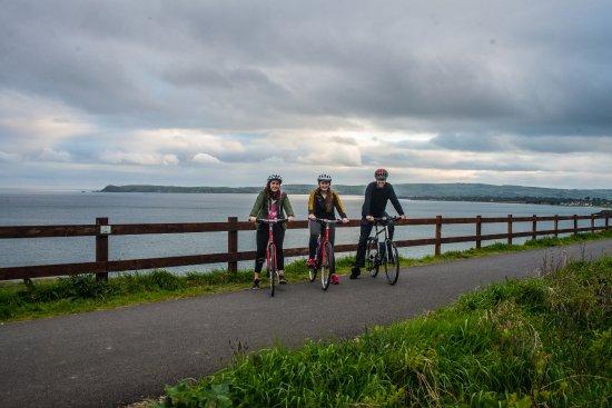 Dungarvan, Ireland: Waterford Greenway - view of Helvic Head