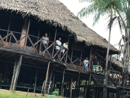 Amazonia Expeditions' Tahuayo Lodge: Tahuayo Lodge and it's staff.