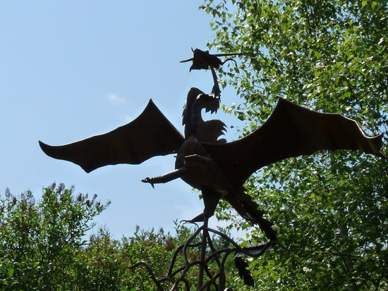 Saint Andrews, Kanada: flying dragon