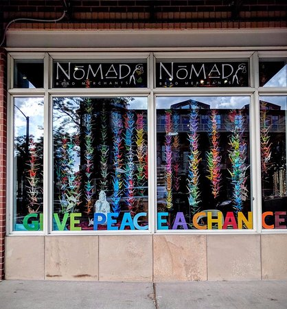 Boulder, Kolorado: Peace Window August 2016