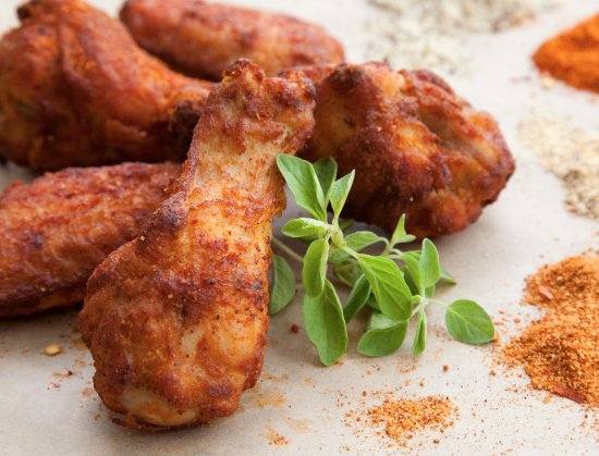 Buckeye Lake, OH: Dry Rubbed Wings