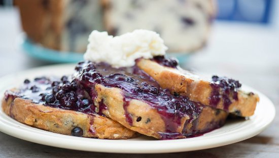 Dysart S On Broadway Blueberry French Toast
