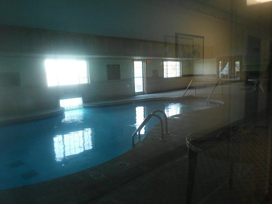 Williamsburg, IA: Indoor area, out door pool is connected