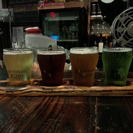 Southern Pines, NC: local craft beer