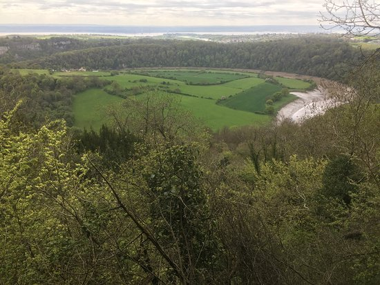 Chepstow, UK: View over the Wye